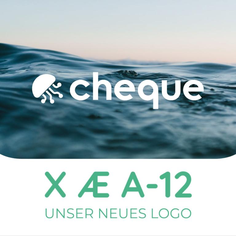 cheque - der intelligente Cloudspeicher - Neues Logo